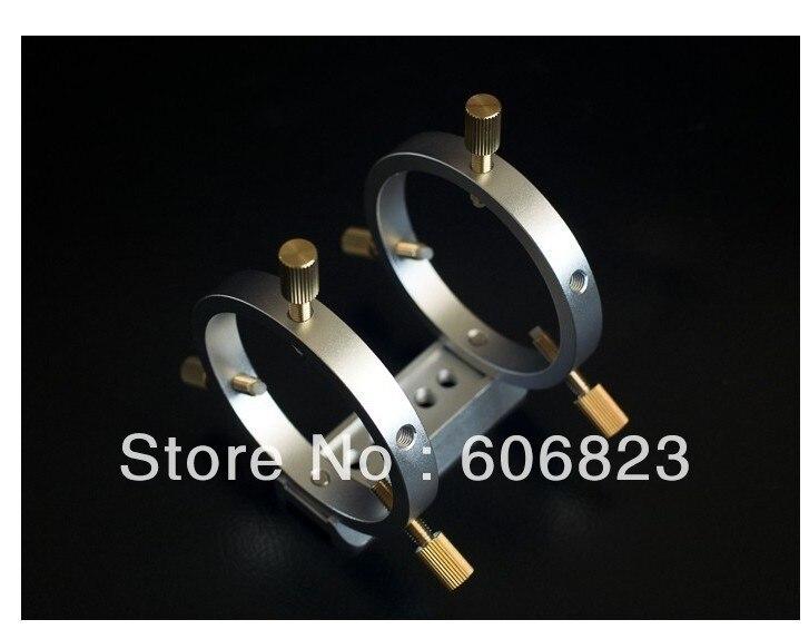 Nouveaux anneaux de Tube de guidage de détecteur de télescope avec plaque de montage en queue d'aronde Dia.60mm