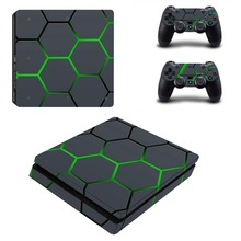 Rubik's Cube PS4 Slim Sticker PS4S Vinyl Decal Skin for Sony Playstation 4 Slim Console&Controller Stickers