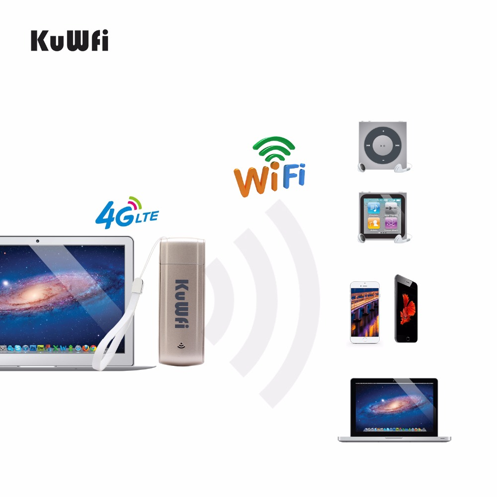 Image 5 - 150Mbps LTE 4G USB Wifi Dongle 3G/4G Wifi Router Mini Mobiel Hotspot With SIM Slot 4G LTE WIFI Modem For Outdoor Car/Bus-in 3G/4G Routers from Computer & Office