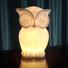 LED night light Animal Shape Lamp White and Yellow Light Night Lamp For Baby Room Decoration Home Night Lamp