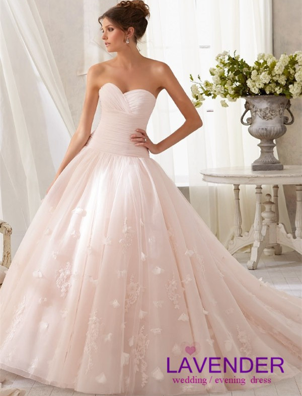 Pink Wedding Ball Gowns