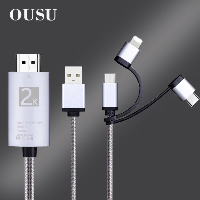 Hero Academia Present Mic 3 in 1 Retractable Multi Charging Cable 3.0a Fast Charger Cord with Phone//Type C//Micro USB Charge Port Adapter Compatible with Cell Phones Tablets and More