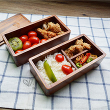 BPA Free Natural Wooden Lunchbox