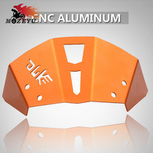 Orange Motorcycle CNC Aluminum Windshield Front Air Reflector Motorbike Accessories for KTM Duke 125 200 390 2013 2014 2015 2016 цена в Москве и Питере
