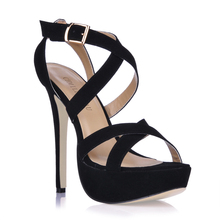 2016 New Sexy Party Shoes Women Stiletto High Heels Ladies Sandals Zapatos Mujer 3463SL-a1 2017 summer red satin elegant wedding bridal shoes women stiletto high heels pears chain ladies sandals zapatos mujer 0640a 13k