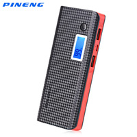 Original PINENG PNW 968S Dual USB Charging 10000mAh External Battery Charger Portable Power Bank Battery For