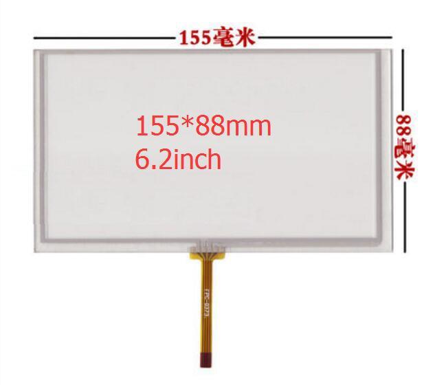 6,2 дюймовый сенсорный экран/155*88 мм/HSD062IDW1 A01 / TM062RDH03 / PW062XS1