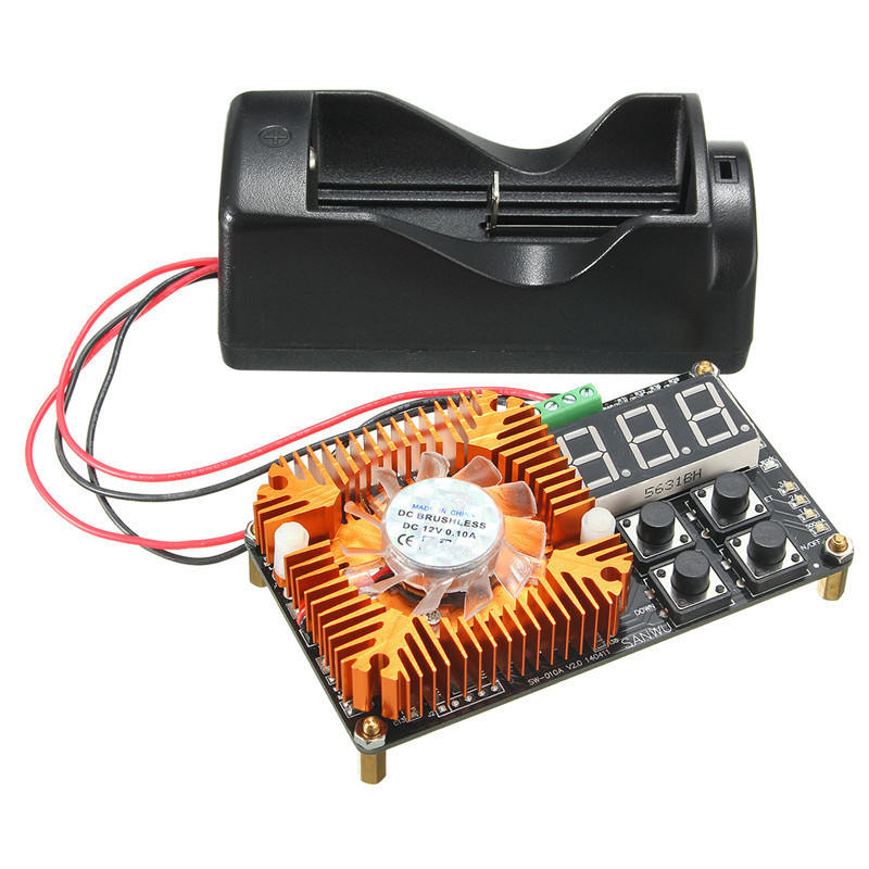 18650 li-ion lithium Battery Mobile Power Capacity Tester Meter discharge load Integrated Circuits Capacity Tester Modules