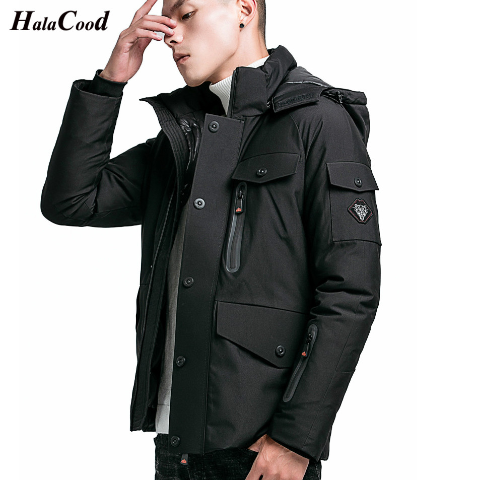 Hot Brand New Winter Jacket Men Warm Padded Hooded Overcoat Fashion Casual   Parka   Male Jacket And Coat Hoodies Slim fit Plus Size