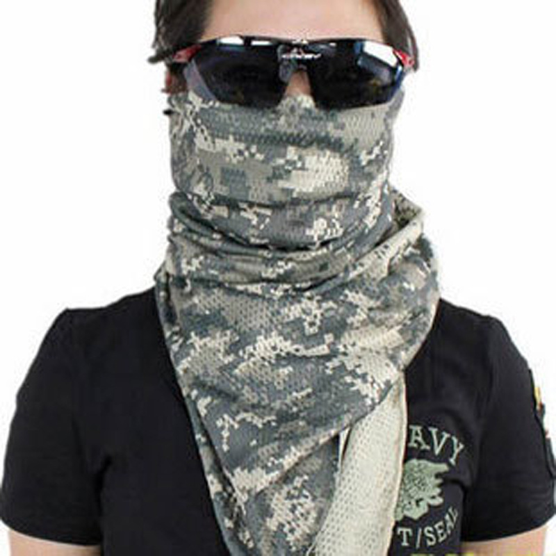 Shemagh Palestine Islamic Military Scarves mesh breathable man Bandana Multifunktion Tactical Arabic Keffiyeh Head Scarf Wrap