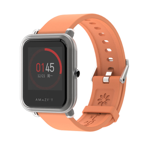 Image 4 - Correa de muñeca para pulsera Amazfit Bip GTS, correa de reloj de 20mm para Xiaomi Huami Amazfit Bip, funda protectora para Amazfit Bip S