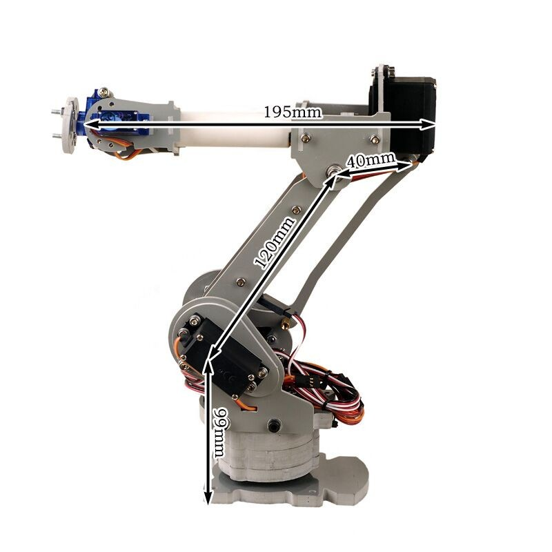 ABB IRB4400 Industrial robots scaled model 6 DOF robot arm for Teaching and Experiment abb irb4400 industrial robots scaled model 6 dof robot arm for teaching and experiment