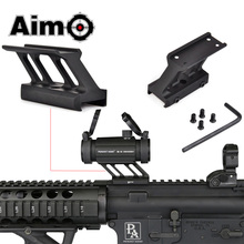AIM O F1 Mount Voor Airsoft T1 / T 1 / T2 / T 2 /TR02 Red Dot Fit Mil Spec picatinny Rail Scope Mounts AO1780 Jacht Accessoires