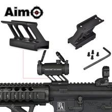 Monture F1 AIM O pour Airsoft, pour modèles T1 / T 1 / T2 / T 2 /TR02, avec point rouge, Mil spec Picatinny Rail, portée, AO1780, accessoires de chasse