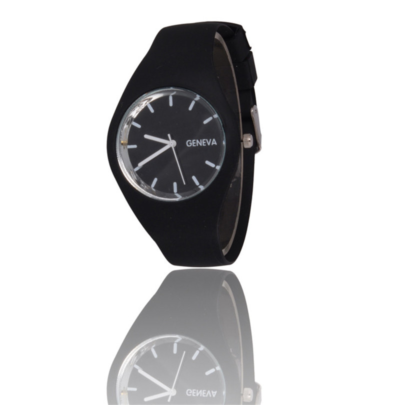 Irissshine New Silicone Watches Fashion Sports Outdoor Unisex Candy-Color Watch Men Women A80