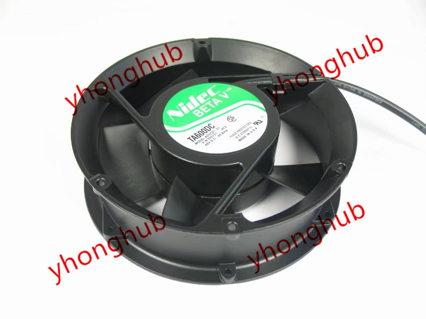 Free Shipping For Nidec A33230-51, NT2 DC 48V 0.48A, 170x170x51mm 3-wire 3-pin connector Server Square Cooling Fan free shipping for nidec u80t24mua7 53j24 dc 24v 0 09a 80x80x25mm 3 wire server square cooling fan