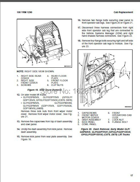 Yale Wiring Diagrams and Service Manuals CLASS 2-in Code Readers ...