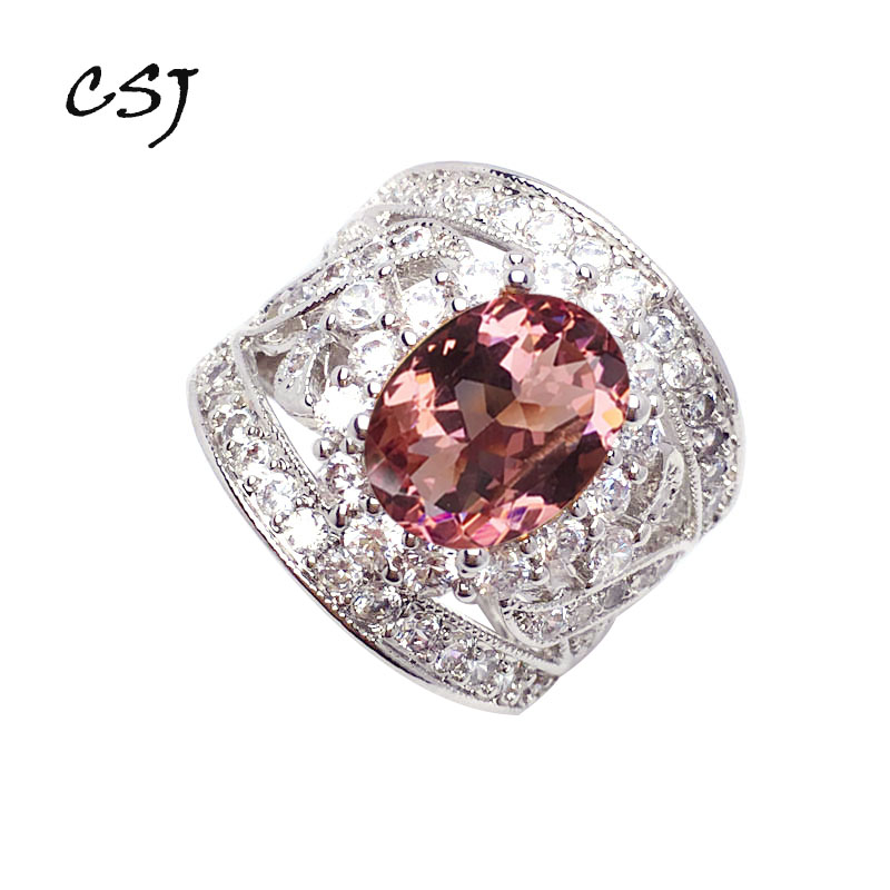 CSJ New Design Elegant Zultanite Ring Oval9*11MM Created Sultanite Color Change  Fine Jewelry Party Wedding Gift For Women