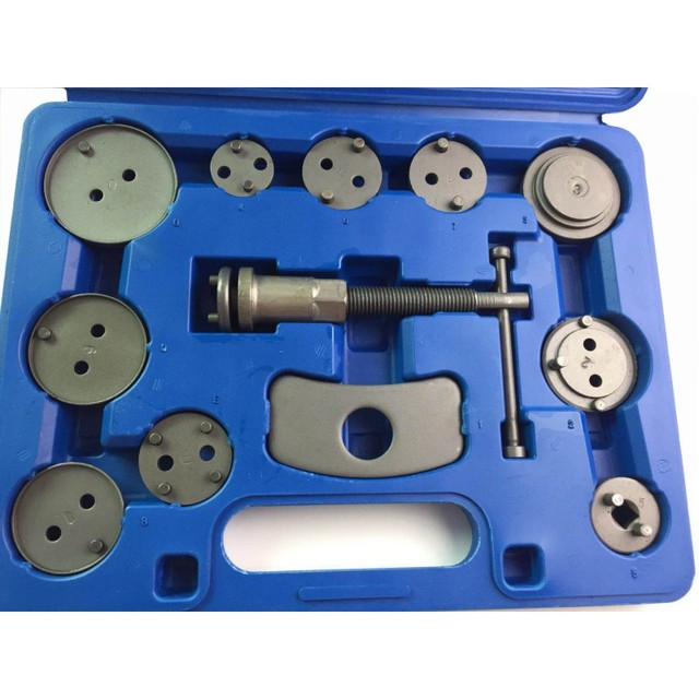12 Uds. Pinza de freno de disco Universal de precisión para coche, Kit de herramientas de retroceso para freno, bomba de freno, Kit de herramientas de reparación de automóviles