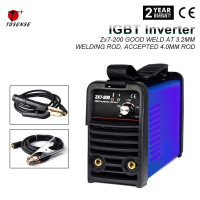 IGBT 220V 110V MMA ARC Welder ZX7 200 200A DC Inverter Portable Stick Welding Equipment For 3.2 4.0MM Rod