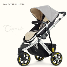 Babyruler baby stroller baby car portable two way tricycle child cart shock absorbers