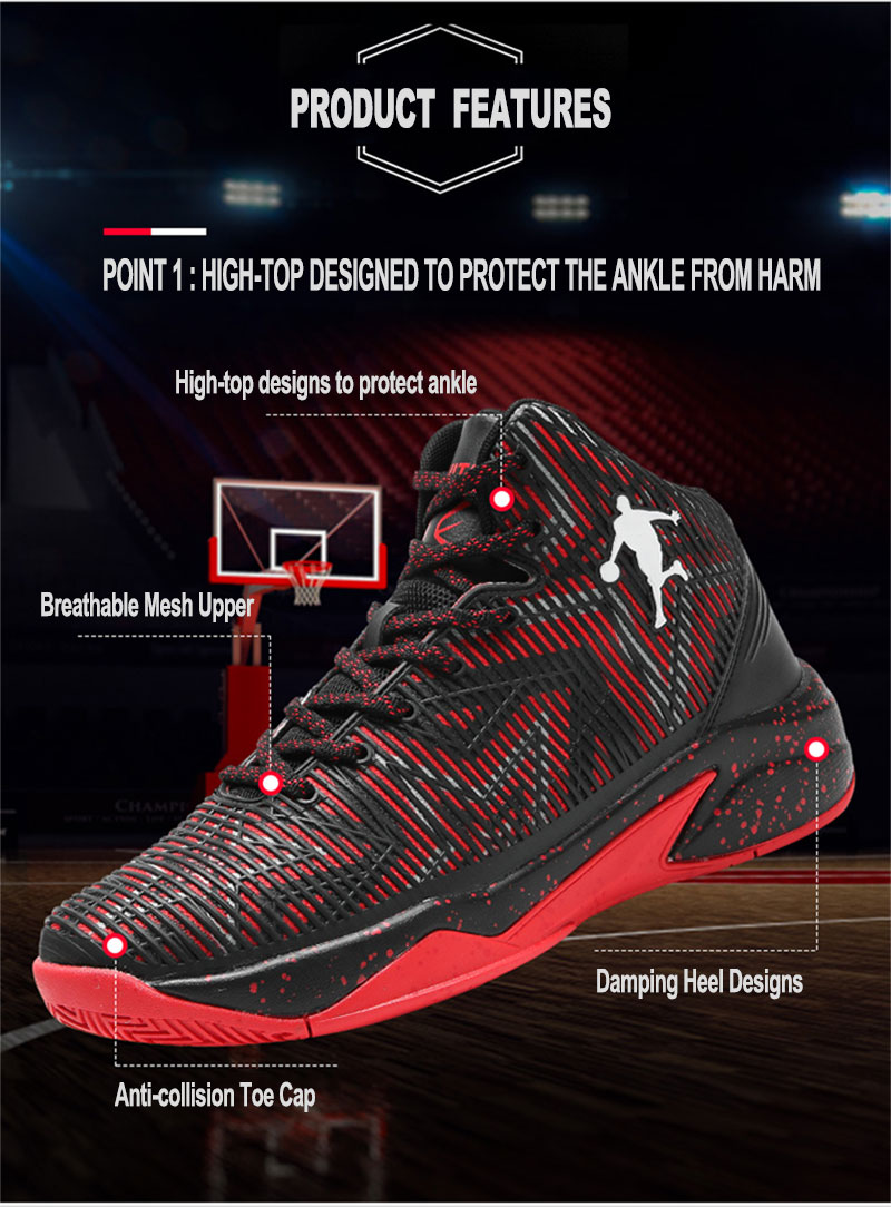 7fd23fe94da5 Jordan Basketball Shoes Mens Womens Breathable Cushioning Basketball ...