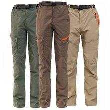 Summer Outdoor Sports Men Climbing Camping Fishing Trekking Hiking Quick Dry Pants Women Breathable Tactical Waterproof Trousers стоимость