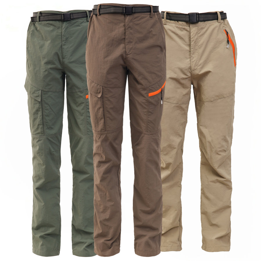 ELEPHANT DANCING Mens Outdoor Pants Breathable Quick-Dry Hiking Pants