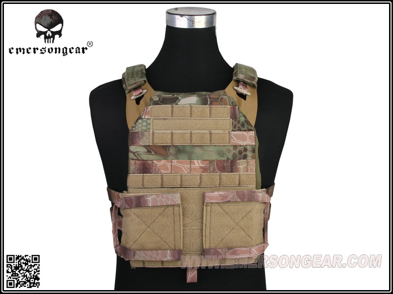 Emerson Molle Cp Style Adaptive Vest Jpc 2.0 Tactische Vest Militaire Combat Borst Bescherming Cs Kleding Veiligheid Mandrake Em7436d Verlichten Van Warmte En Dorst.