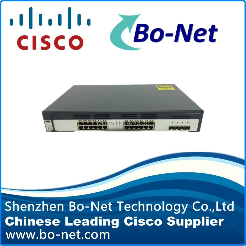 Origianl Used Cisco Switch Ws C3750g 24ts S 15u Available In Stock Wsc296024ttl Network Switches From Computer Office On Alibaba Group