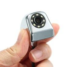 Водонепроницаемый заднего вида Камера с 8 светодиодный Ночное видение Парковочные системы для bmw e46 e90 ford focus 2 volkswagen