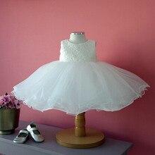 Девочка Платье Vestido Infantil для 0-2 Года Рождения Платье Девушки Цветка Платья Детские Платья Принцессы 80112