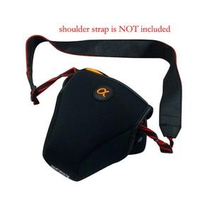 Image 4 - Étui portable en néoprène pour SONY A7 A7S A7SII A7R2 A7R II A7M2 A7III A7RM3 A7R MarkIII A9 housse de protection