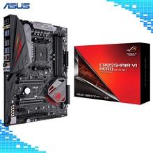 ASUS ROG Crosshair VI Hero (WI-FI AC) AMD Ryzen AM4 DDR4 M.2 USB 3.1 ATX X370 Motherboard with onboard 802.11AC WIFI