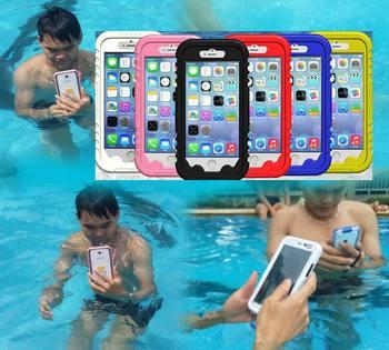 IPX8 Onderwater Waterdichte zwemmen Duiken box case voor iPhone 6 4.7