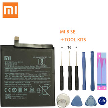 цена на XaioMi Original Replacement Battery BM3D For Xiaomi 8 SE MI8 SE M8 SE 100% New Authentic Phone Battery 3120mAh Tools