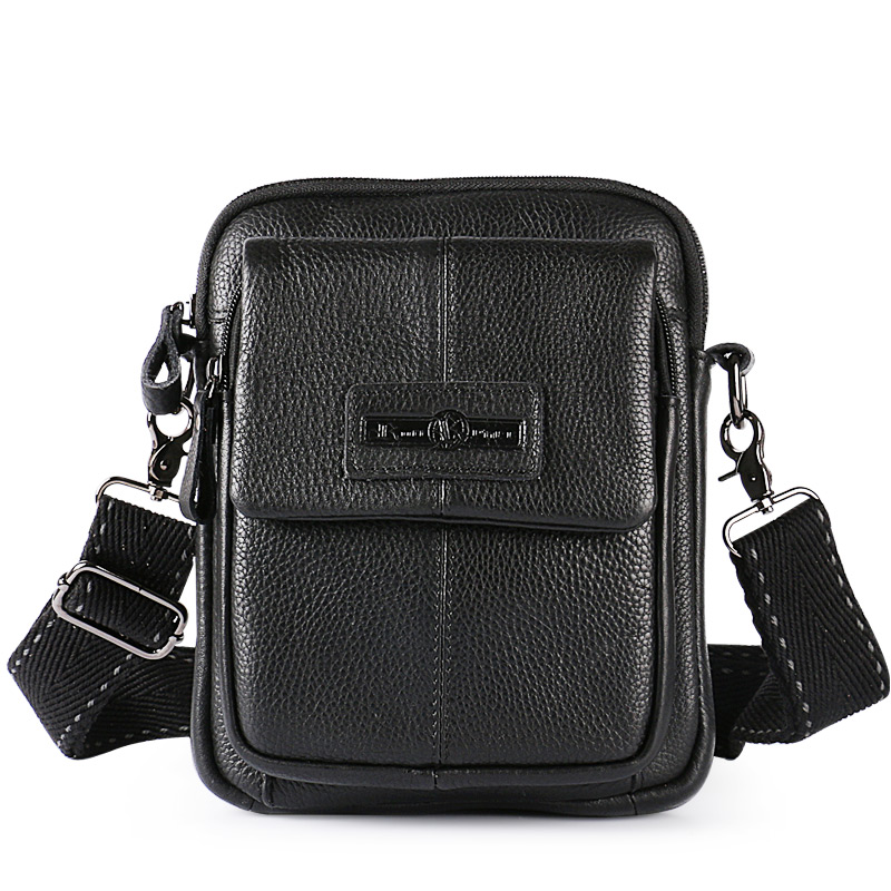 Ruil casual men bag leather handbag Messenger bag men leather shoulder bag Multi-functio ...