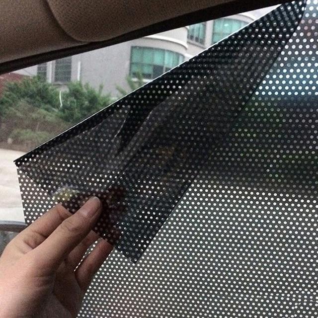 Автомобильные аксессуары шторы на ветровое стекло ПВХ стикер солнцезащитный козырек УФ Защита боковое окно пленка автомобиля Наклейка s для окна