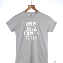 533ee10d5453 Me comprar Fichas Unisex Tshirt Moda Slogan t-shirt gola Roupas de Algodão  Dos Homens t-shirt t-shirt Das Senhoras Senhoras do p.