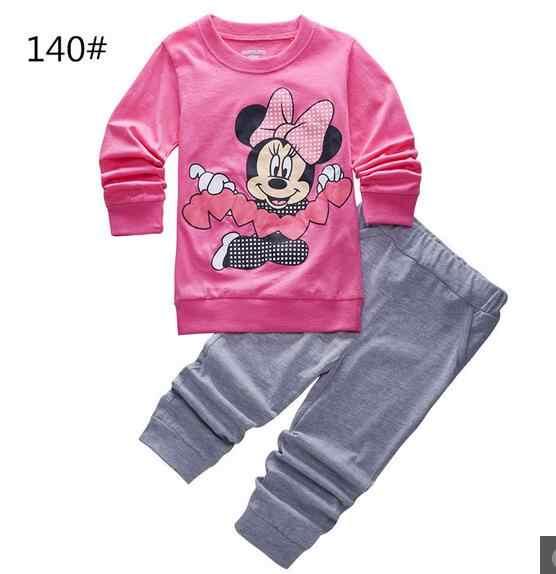 PJ ילדים פיג 'מה למעלה + מכנסיים 2pcs בני תחתוני הלבשת סטי ילדים Nightwear תינוק ארוך השרוול של פיג' מות p126