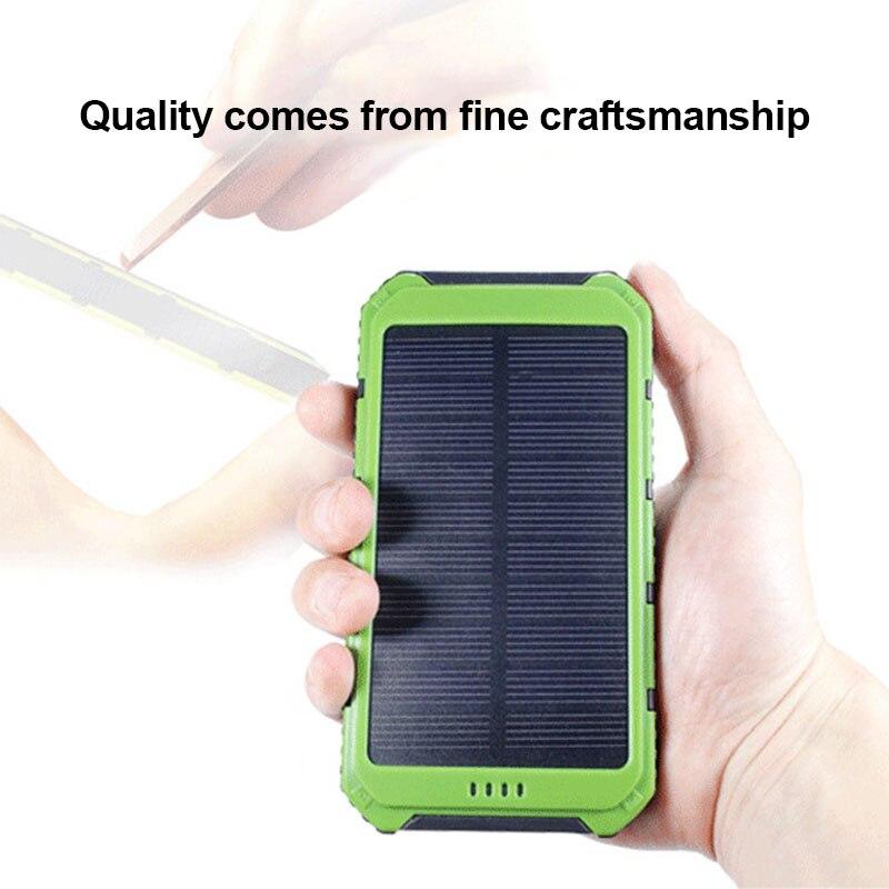 Hot Sale Overcurrent Protecting Safty Solar Energy Mobile Power Bank Nesting Portable Wear-resistant Mobile Power Box Box