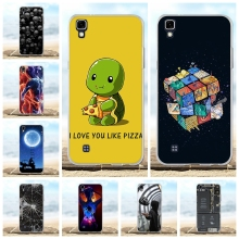 For LG X Power K220 K220DS Case Soft TPU Silicone power LS755 Cover Cartoon Patterned US610 K450 Shell