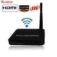 1080P 100M 5,8 GHz Wireless Video Sender sender Empfänger HDMI H.264 Drahtlose Wifi Extender mit IR fern Bis zu 100m