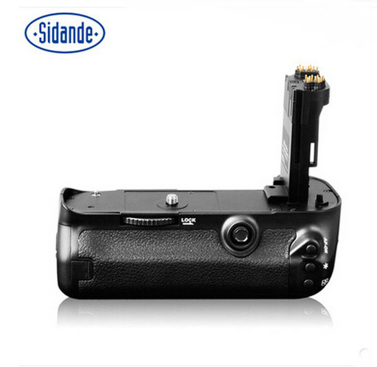 NEW SIDANDE Battery Grip For Canon 5D3/2 5DSR 60D 70D 6D 7D 80D Battery Case CAMERA BATTERY meike dslr camera built in 2 4g battery grip for canon eos 7d mark ii as bg e16