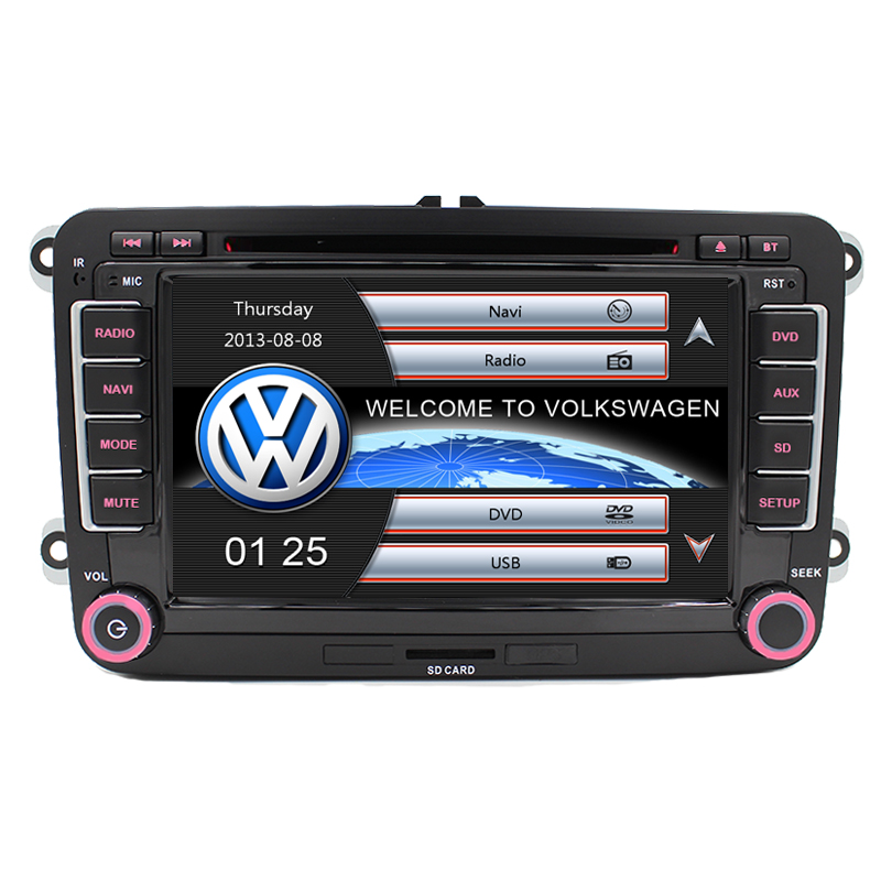 7 capacitive touch screen car dvd player gps navigation. Black Bedroom Furniture Sets. Home Design Ideas
