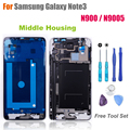 High Quality Middle Frame for Samsung Galaxy Note 3 N900 / N9005 Middle Housing Replacement Screen Bezel Repair Parts