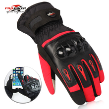 Probiker Motorcycle Warm Riding Waterproof Gloves Motocross Racing Full Finger Gants Men Women Moto Cycling Glove Windproof