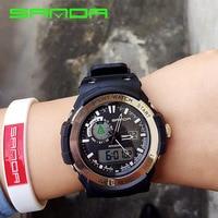 New Brand SANDA Sports Watch Men Women Lover S Clock Montre Homme Water Resistant Calendar S