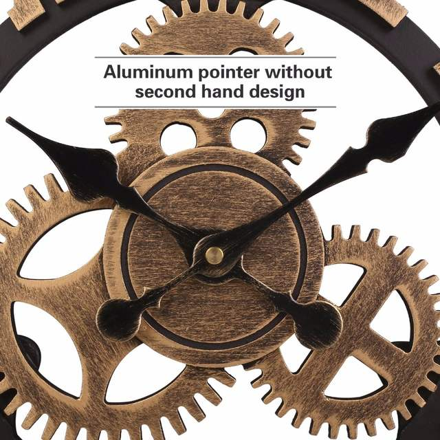 0308e449dcc Soledi Relógio Europeu Retro Do Vintage Feitos À Mão Do Vintage Decorativo  3D Engrenagem Relógio de