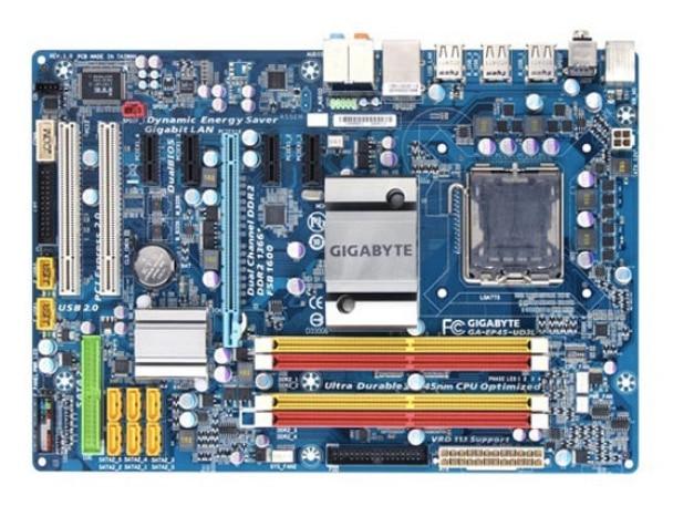 Gigabyte GA-EP45-UD3L original motherboard LGA 775 DDR2 EP45-UD3L boards P45 Desktop motherboard